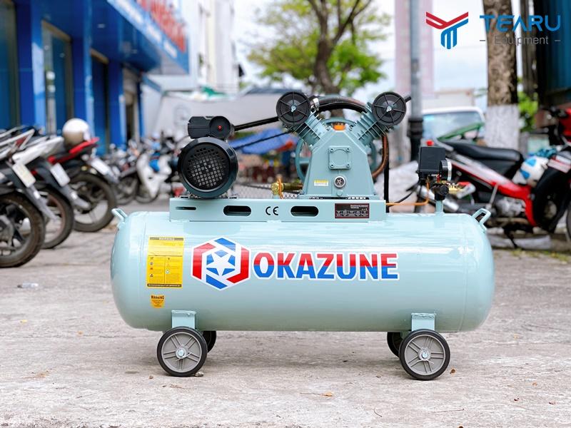 Máy Nén Khí Rửa Xe Okazune 3HP - 120L