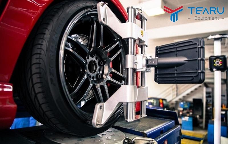 Cân chỉnh bánh lái giúp việc đi xe chuẩn hơn