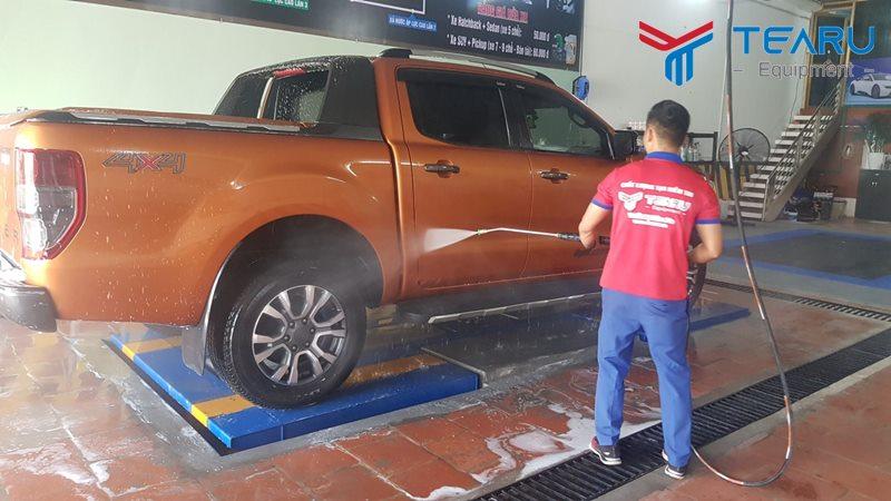 Hướng dẫn rửa xe ô tô