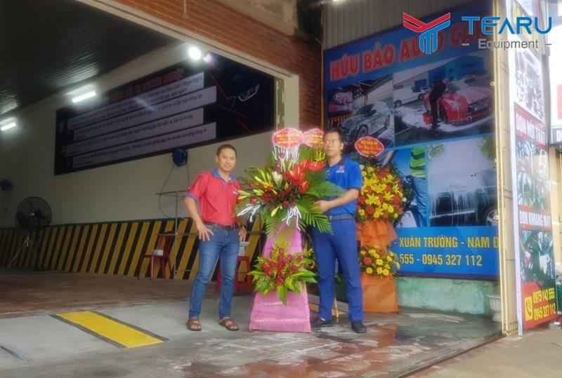 Khai Trương trung tâm chăm sóc xe Hữu Bảo Auto Care tại Lạc Quần, Xuân Trường Nam Định