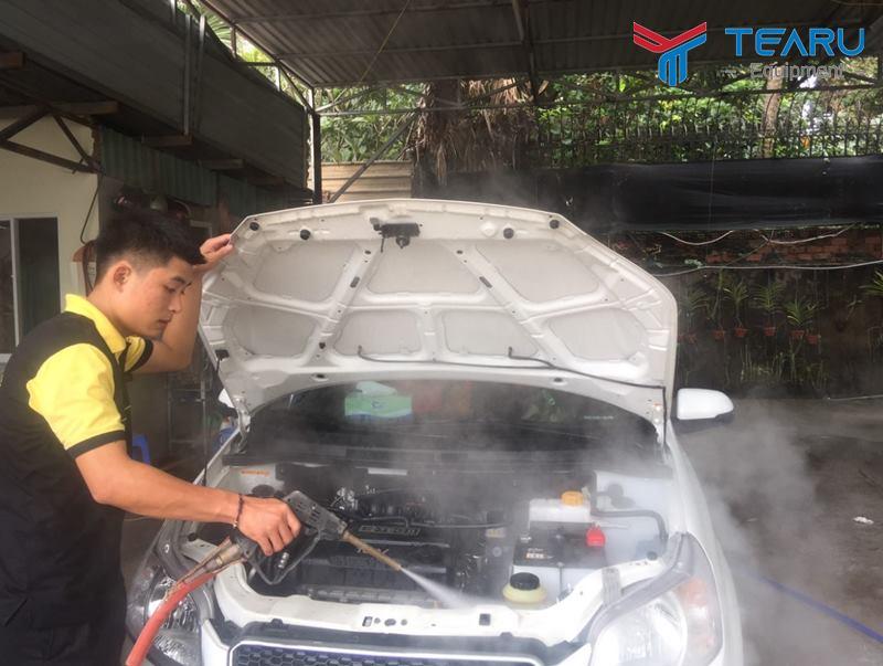 Máy rửa hơi nước nóng thiết kế chuyên nghiệp