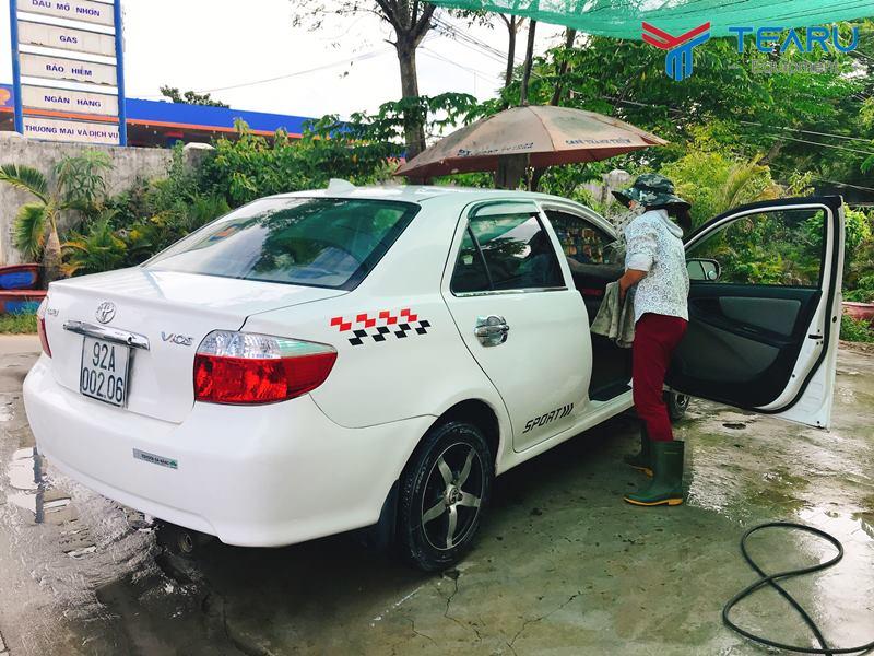 Rửa xe dễ dàng hơn