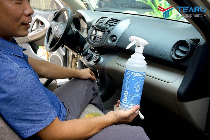 Dung dịch rửa và chăm sóc xe Tenzi