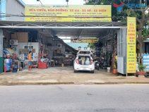 Lắp đặt tiệm rửa xe - làm lốp cho anh Hoàng ở Cẩm Khê, Phú Thọ