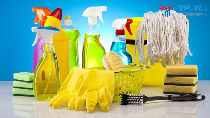 Tận dụng chất tẩy rửa gia dụng - công nghiệp