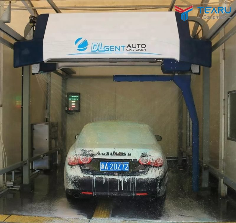 Máy rửa xe ô tô tự động là chủ yếu