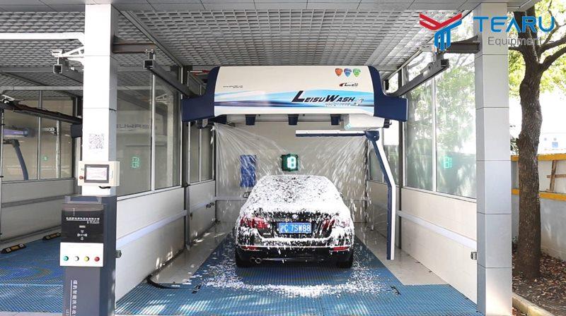 Rửa xe tự động cho dây chuyền khép kín