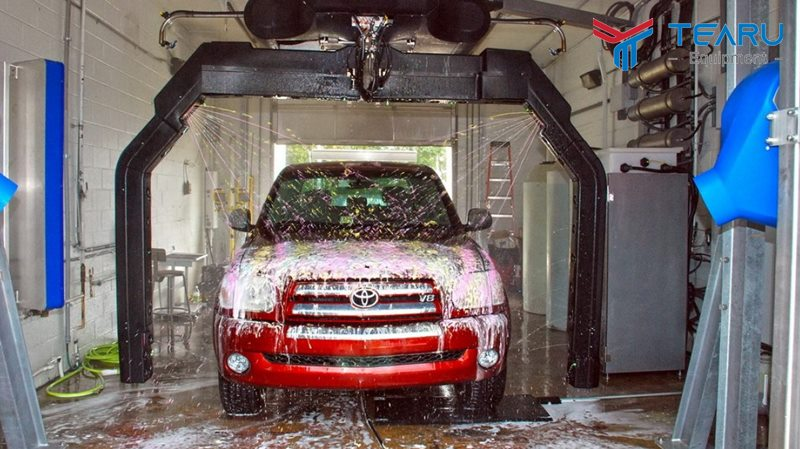 Rửa xe tự động có sạch không?