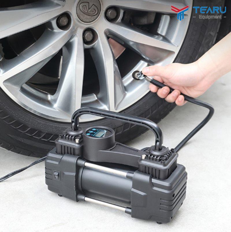 Súng bơm lốp giúp bạn bơm lốp dễ dàng và kiểm soát được áp suất