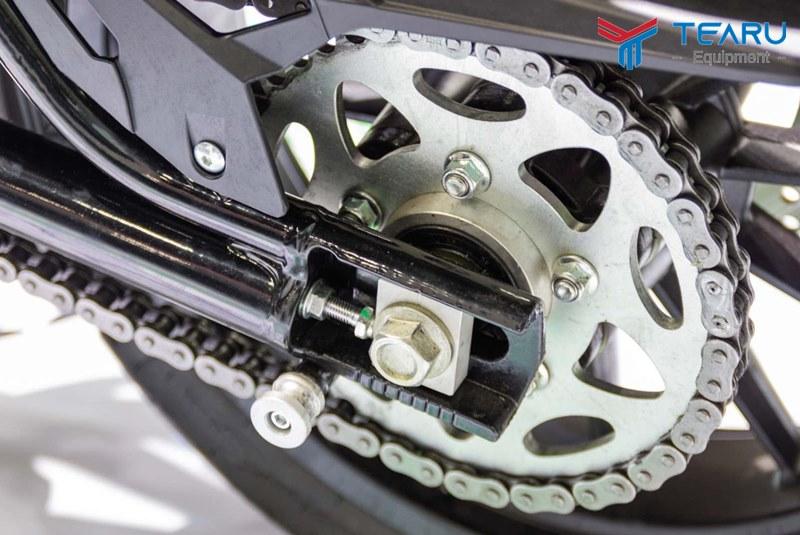 Bôi trơn xích xe máy sẽ đảm bảo an toàn khi vận hành