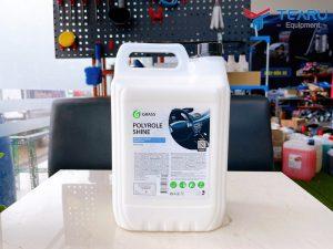 Dung dịch dưỡng bóng bề mặt nhựa, da, cao su Polyrole Shine 5 lít