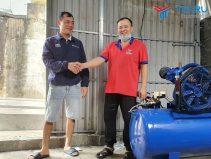 Hoàn thiện lắp đặt và bàn giao tiệm rửa xe cho anh Dũng ở Phú Xuyên - Hà Nội