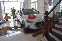 Đi rửa xe, nữ tài xế lao xe thẳng vào nhà dân khiến 1 người trọng thương